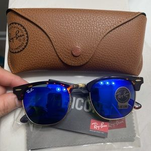 Ray-Ban sunglasses clubmaster blue size 51mm